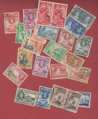 Gold Coast George VI assorted used