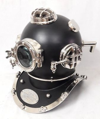 Divers Diving HELMET Scuba Style US Navy Mark V Full size Antique Vintage  Gift