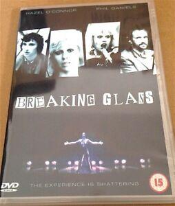 BREAKING GLASS (2001) HAZEL O'CONNOR (DVD)