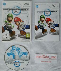 MARIO KART (Wii) +U=Super Racing Driving Cars Carts Bikes -4 Player! =NEAR MINT✔