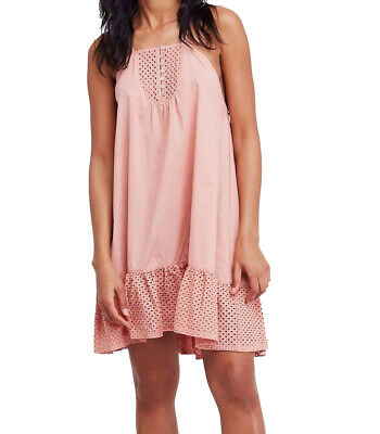 Free People | Calico Trapeze Dress | Pink | -