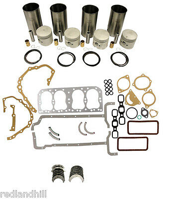 Ford Tractor Engine Major Rebuild Overhaul Kit With Bearings 2n 8n 9n