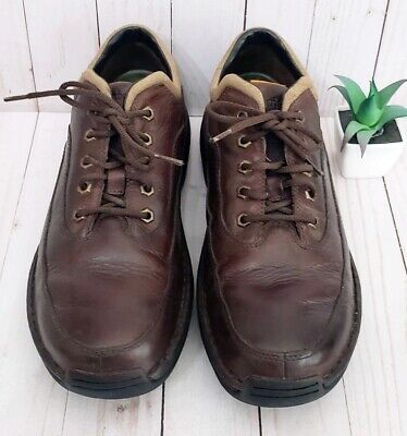 Timberland Men's Oxford Lace-Up Shoes US 10.5 M Brown Oiled Leather 79512