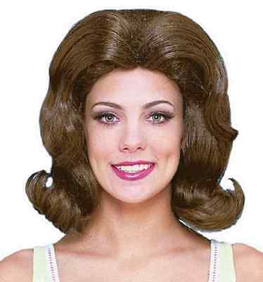 Perfect Wife Wig Jackie O Fancy Dress Halloween Adult Costume Accessory 3 COLORS](Jackie O Halloween)