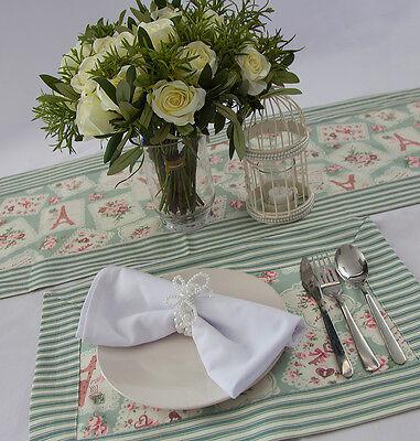 Vintage Themen Tischläufer / 2 stk. Ort Matten Heim Tischdekoration Events