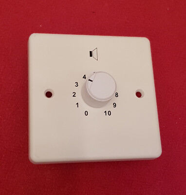 100V/50W line speaker 10 step volume control with 24V relay