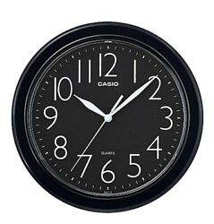 New IQ-01S-1D Casio Analog Quartz Round White Resin Wall Clock IQ01-7R/ EASY R.
