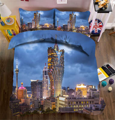Excelling Nature 3D Printing Duvet Quilt Doona Covers Pillow Case Bedding Sets ()