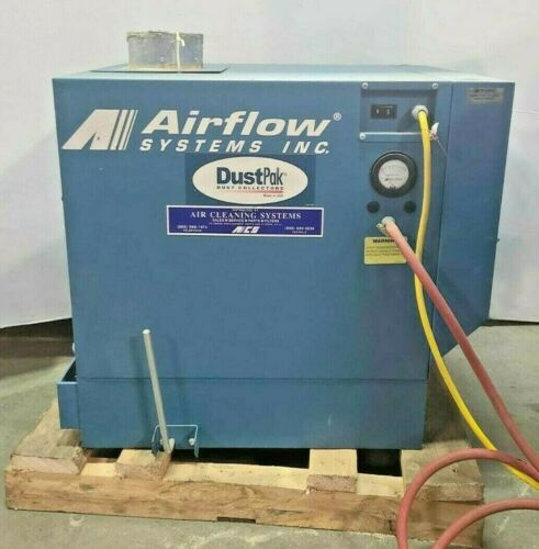 Airflow Systems Dust Collector Blower Model DCHI-PG7-AP1 Single Phase 1.5 HP