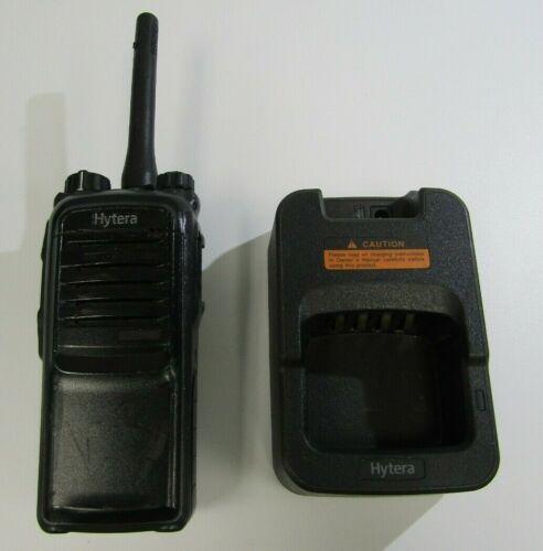 Hytera UHF PD702 U(2) Digital Portable Radio with Hytera MCU Charger CH10A04