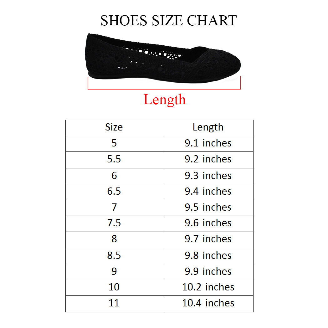 New Womens Cute Lace Crochet Ballet Flat Comfy Slip On Loafers Ballerina Shoes 1
