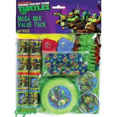 Teenage Mutant Ninja Turtles Birthday Favors Pinata Bag Filler Prizes Decoration - Ninja Turtles Favors