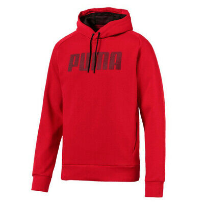 Puma Mens P48 Modern Sports Hoodie Sweatshirt Jumper Red 852321 73 A92B