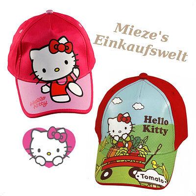 Hello Kitty Cap Basecap Mütze Kinder Kappe Schirmmütze Baseball Cap Cappy Hello Kitty Baseball