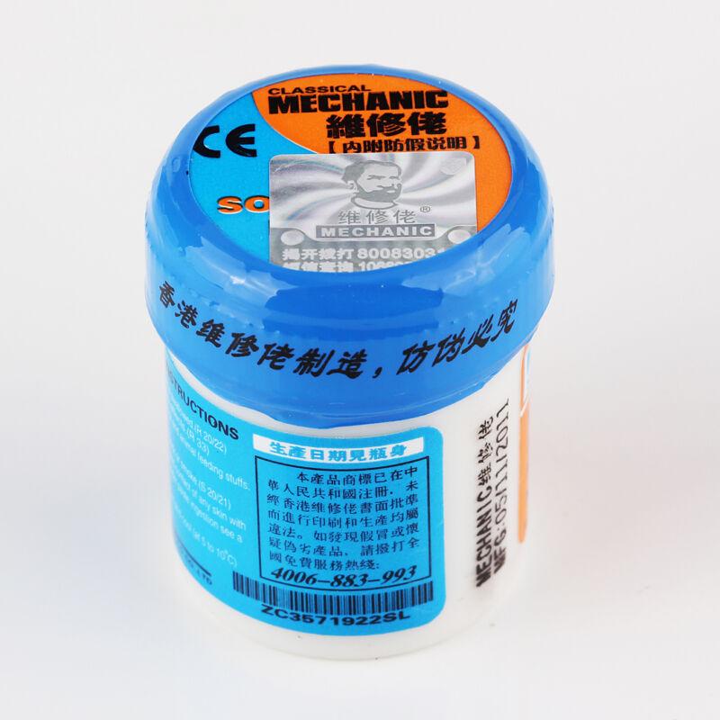 MECHANIC Reparing  XG-50 (XG-500) Solder Soldering Paste42g Sn63/Pb37 25-45um