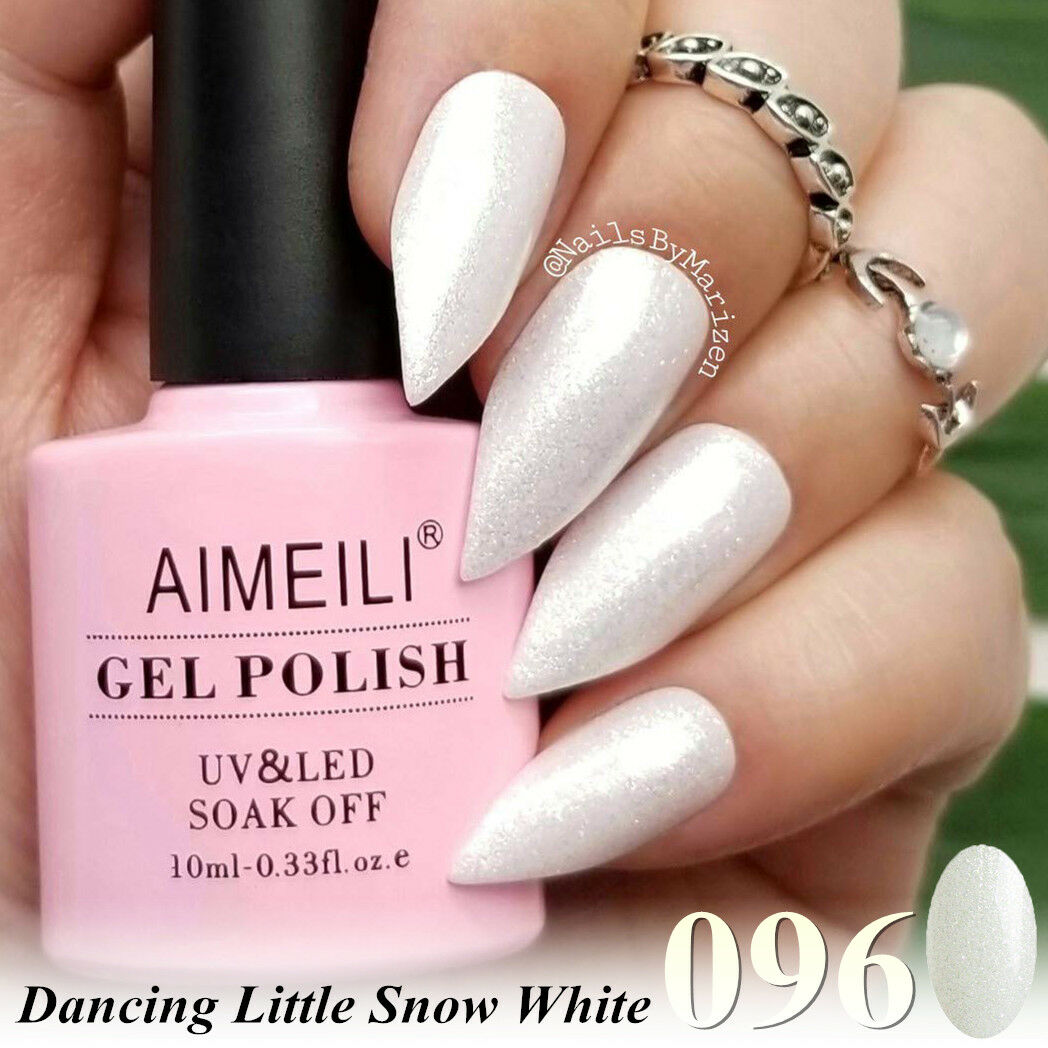 AIMEILI Christmas Glitter Dancing Little Snow	Soak Off UVLED