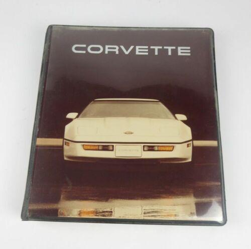 1984 Corvette Album Presentation Book Photos Slides