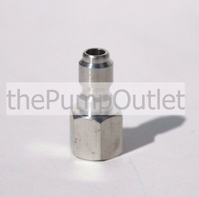 14 Fpt X 14 Male Quick Connect Stainless Steel Pressure Washer Fitting .25
