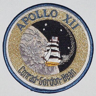 Aufnäher Patch Raumfahrt NASA Apollo XII ..........A3085