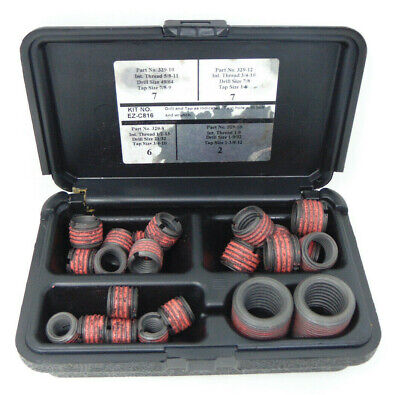 E-z Lok Threaded Inserts For Metal Assorted Kit Open Box Complete Ships Free