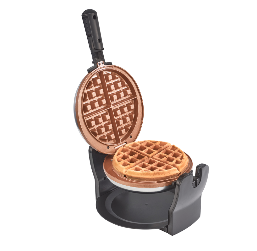 Bella  Copper Titanium Belgian Waffle Maker Ceramic Healthy