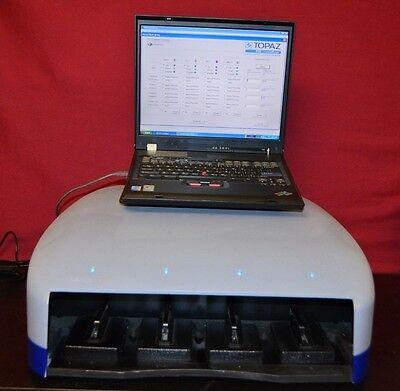 Fluidigm Topaz Tpz-fid Fid Protein Crystallizer Laptop Loaded With Software