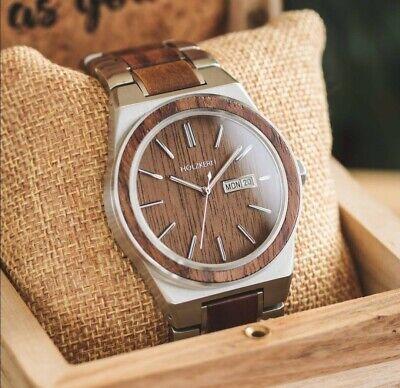 Holzkern Armbanduhr für Herren ( Ciudad Perdida)