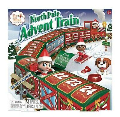 Elf on The Shelf North Pole Advent Train Calendar Christmas 2020