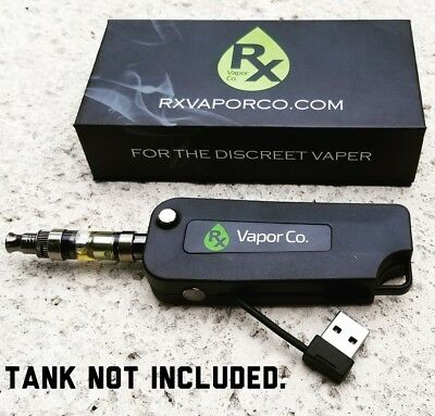 RX Flip Key Vape-Battery 510 Thread w/ USB Charger Discreet FREE SHIPPING!