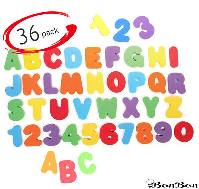 36pcs Alphabet Toddler Bath Toys Floating Letters Numbers - Fastest USA Shipping