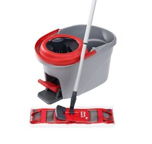 Vileda flat mop with spinning bucket Largs Bay Port Adelaide Area Preview