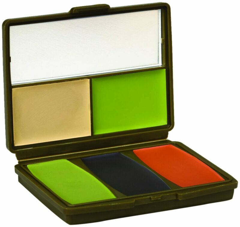 Hunters Specialties 5 Color Military Woodland Makeup Kit