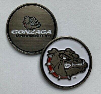 New Gonzaga University Bulldogs Golf Ball Marker Bulldogs Golf Ball Marker