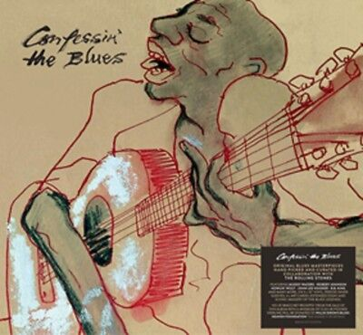 """Confessin' the Blues  - New 5 x 10"""" Bookpack - Compiled by The Rolling Stones"""
