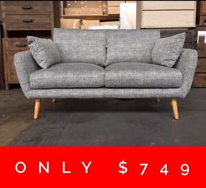 FORWELL 2 SEATER SOFA - FURNITURE OUTLET Granville Parramatta Area Preview
