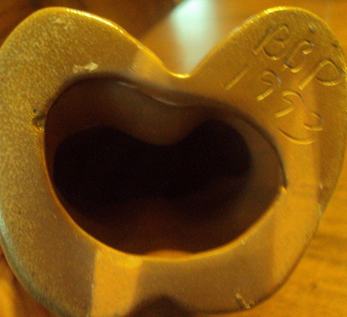 Beaumont Brothers Pottery Salt Glazed BBP 1993 LARGE 9. Teddy Bear EUC - $45.00