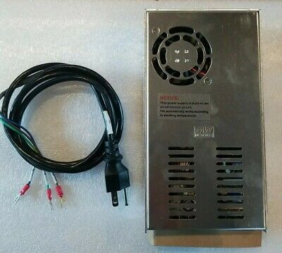 New Se-350-12 Meanwell Acdc Power Supply 12v 29a 348w. With Power Cord.