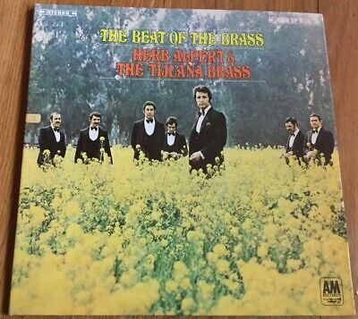 The Best of the Brass Herb Alpert & The Tijuana Brass A & M Lp 33 RPM