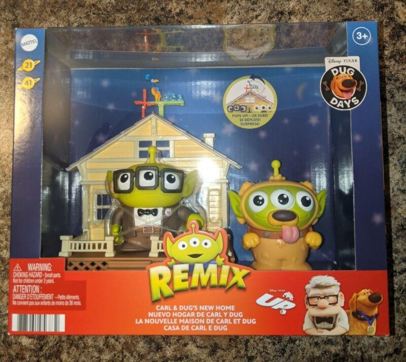 🔥Mattel Pixar Alien Remix Carl and Dug