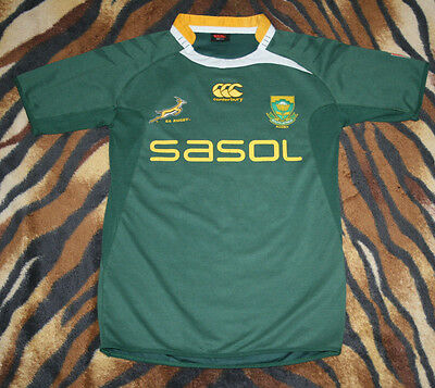 Ccc South Africa Rugby Shirt  Canterbury Sa Sasol L Jersey Kit Large