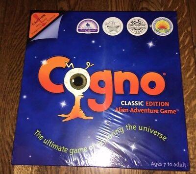 COGNO BOARD GAME ALIEN ADVENTURE NEW 4 AWARDS CLASSIC EDITION SCI FI OUTER SPACE ()