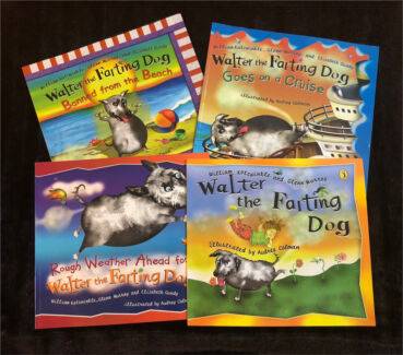 WALTER THE FARTING DOG BOOKS INDIVIDUALLY PRICED