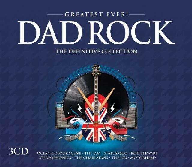 DAD ROCK-GREATEST EVER (The Scorpions, Free, Thin Lizzy, Magnum,...) 3 CD NEU