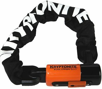 Kryptonite Evolution Series 4 1055 Integrated Bike / Cycle Chain Lock 10mmx55cm