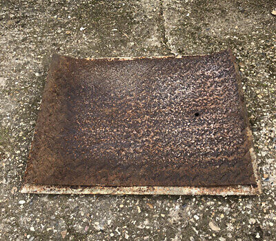 Vintage Cast Iron Man Hole Cover and Frame 69cm