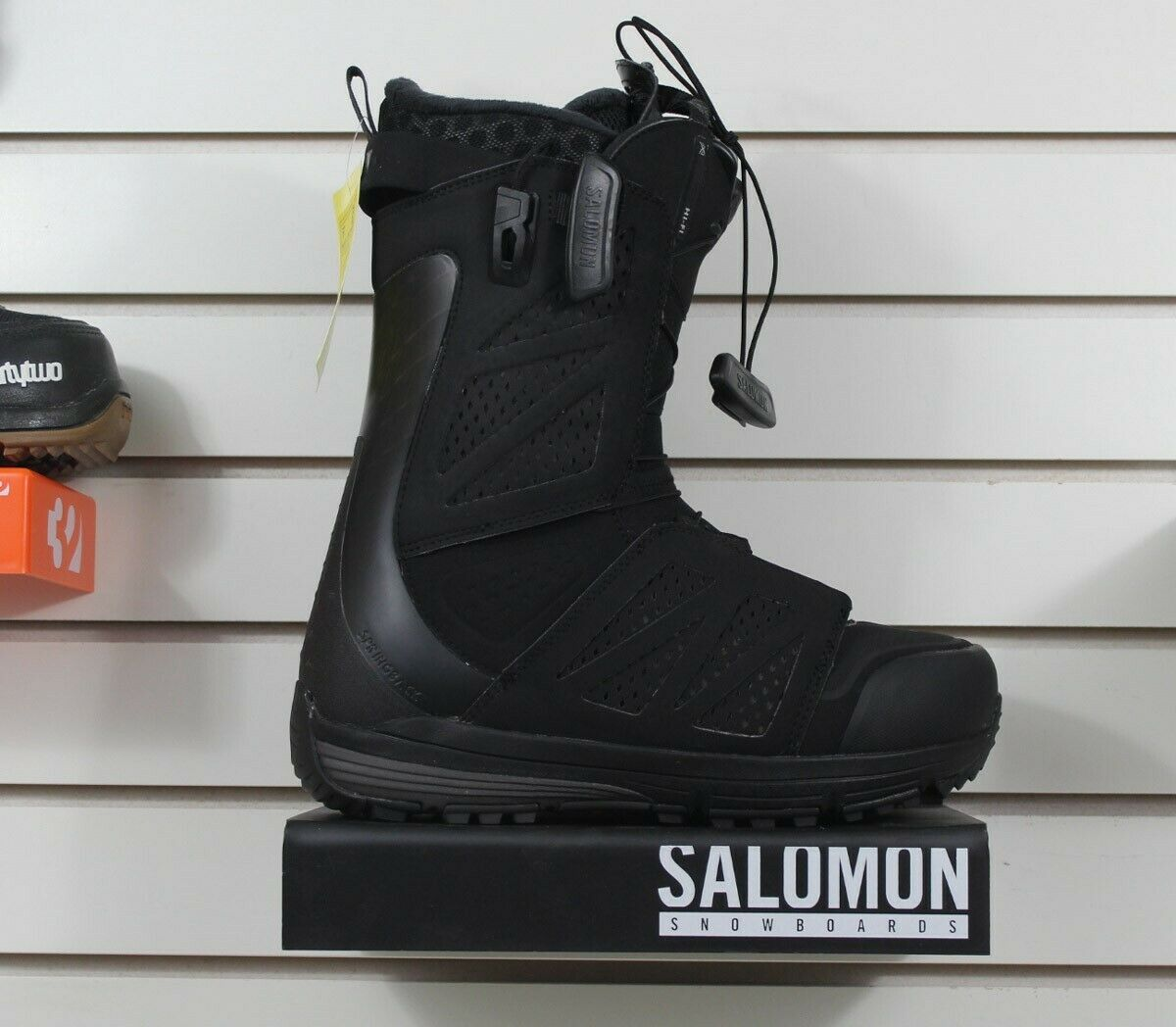 New 2018 Salomon Hi-Fi Snowboard Boots Mens Size 9.5 Black