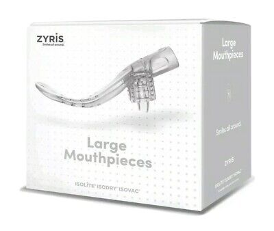 Isolite Mouthpiece Large Size 10pcsbox Isodry Isovac Dental System Zyris