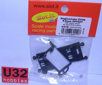 SLOT.IT CH76 SOPORTE MOTOR ANGLEWINDER LMP OFFSET 0.0mm EVO6
