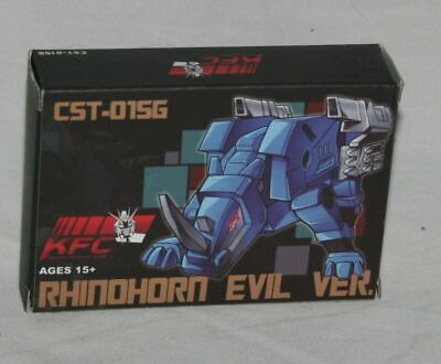 transformers KFC cst-01sg rhinohorn Ramhorn shattered glass mib tape cassette