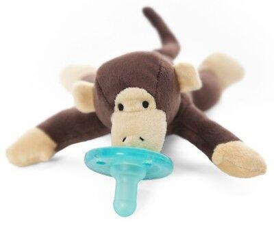WubbaNub Infant Newborn Baby Soothie Pacifier - Monkey
